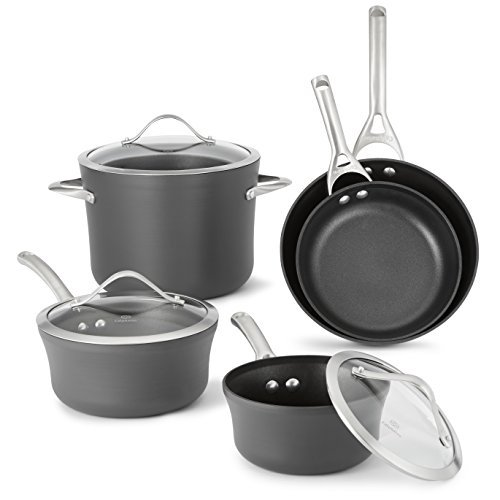 Calphalon Contemporary Hard-Anodized Aluminum Nonstick Cookware Set