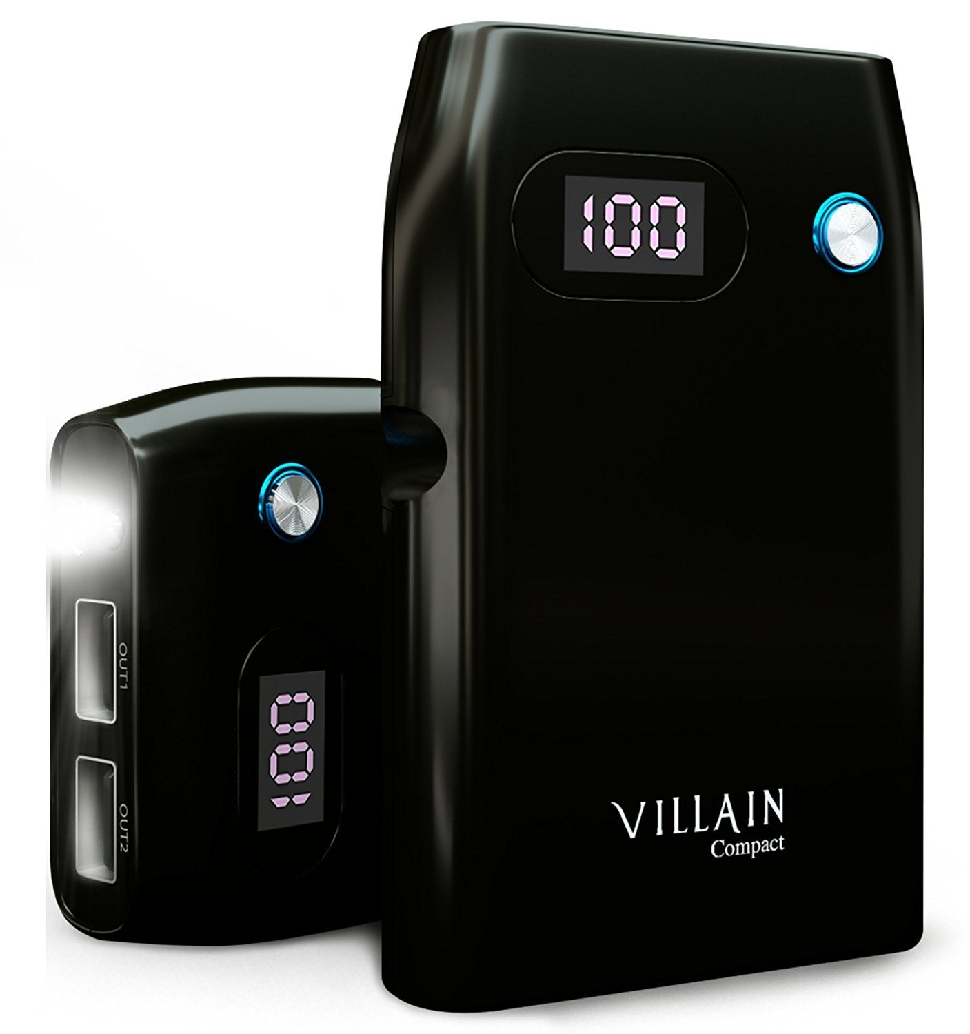 Quick Charge Villain Compact 10050 m Ah Powerbank