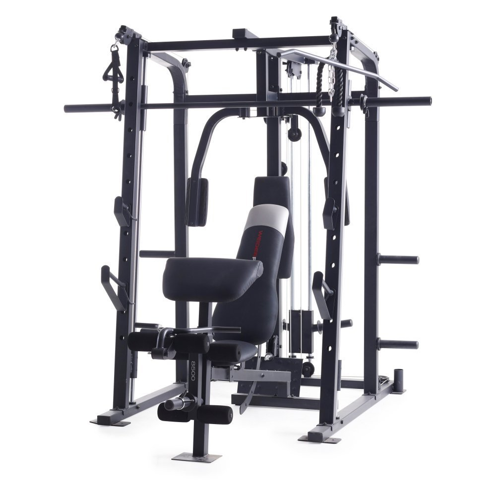 Weider Pro 8500 Smith Weight Cage Home Gym