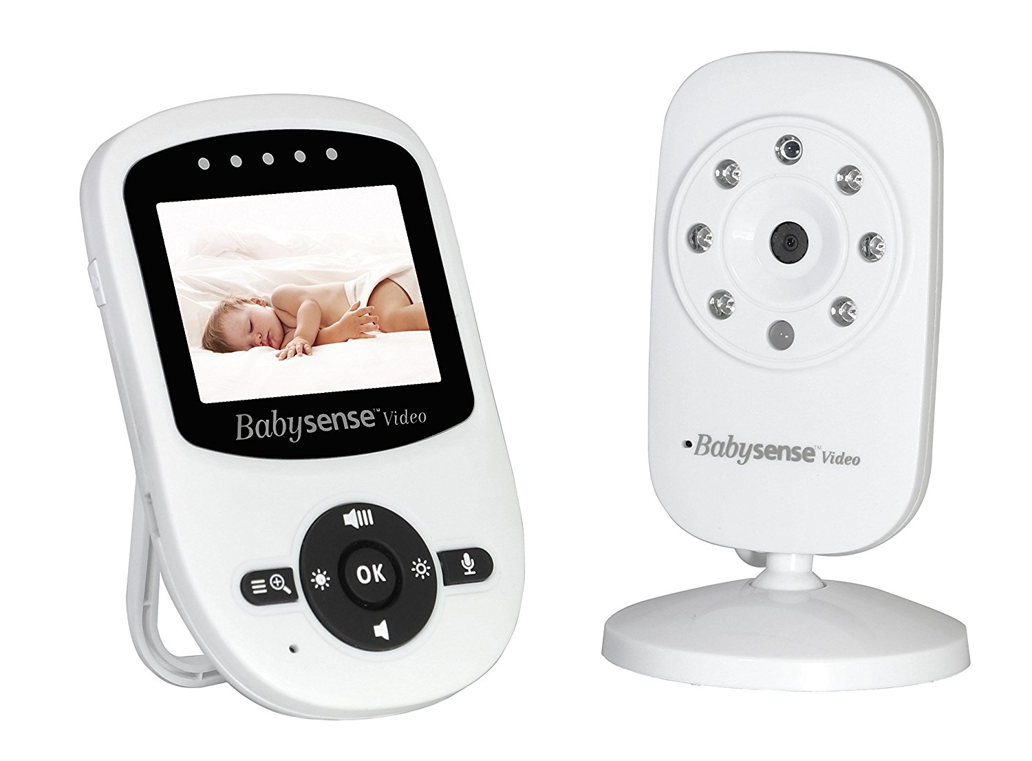 Babysense Video Baby Monitor with LCD Display