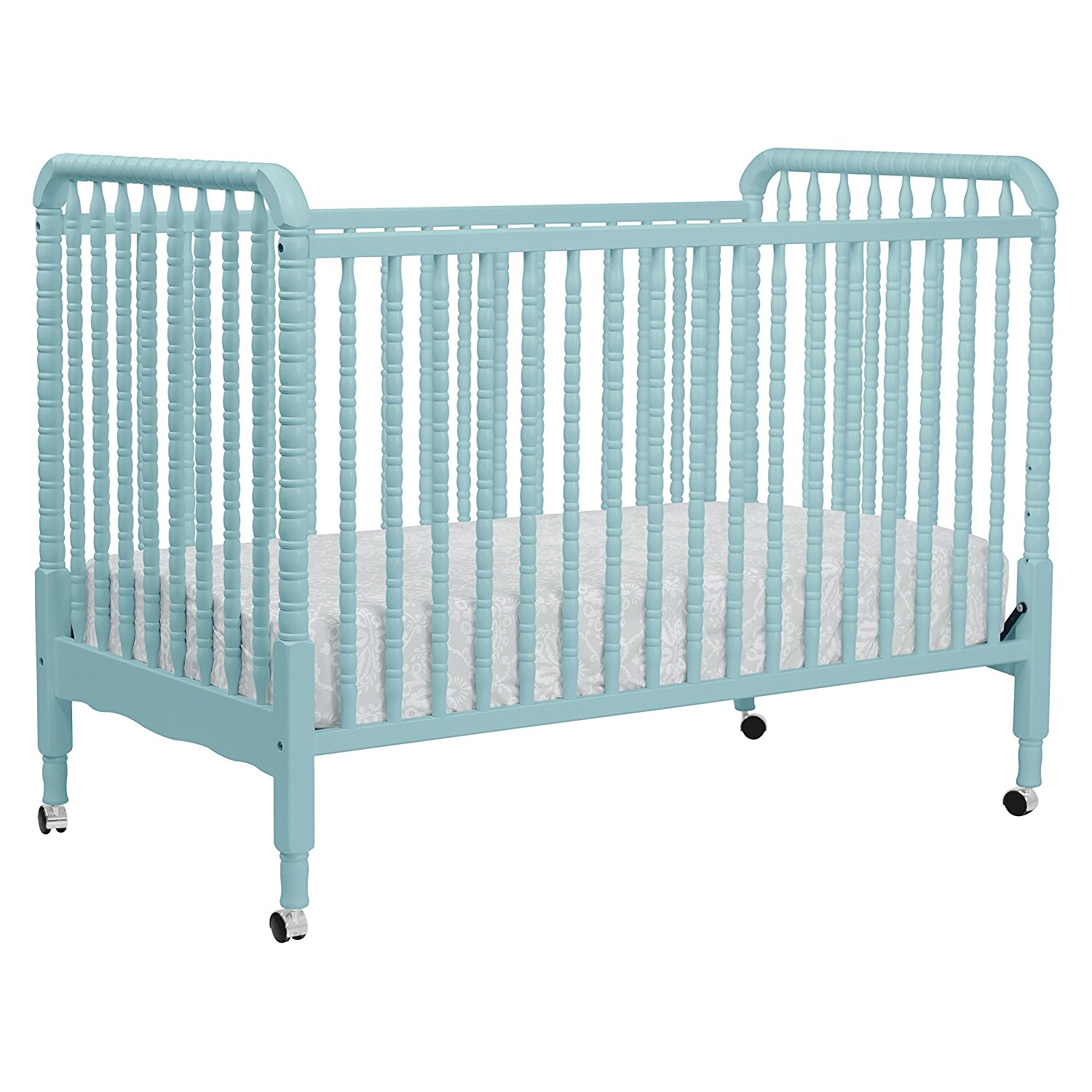 DaVinci Jenny Lind Stationary Crib With Toddler Bed Conversion Kit