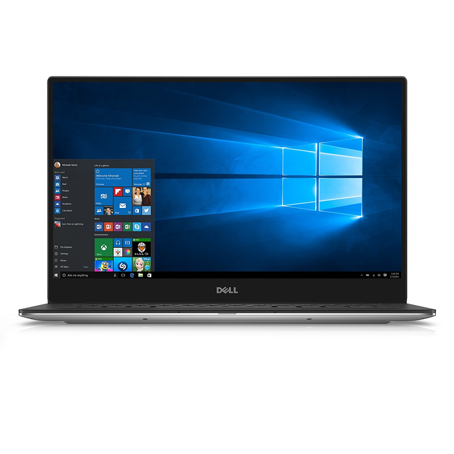 Dell XPS 9350-1340SLV 13.3 Inch Laptop