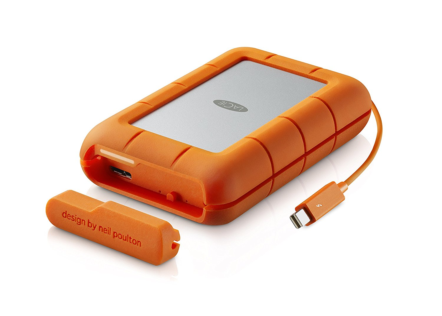 LaCie Rugged RAID, Thunderbolt and USB 3.0 4TB Portable Hard Drive