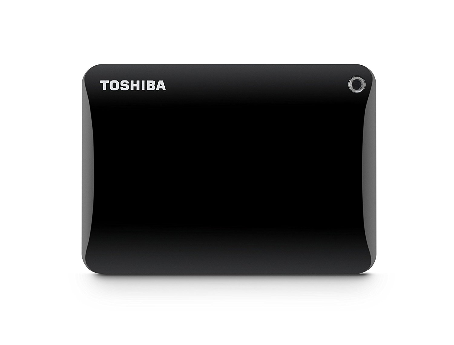 Toshiba Canvio Connect II 2TB Portable Hard Drive, Black