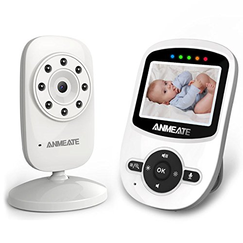 Video Baby Monitor with Camera, Temperature Sensor