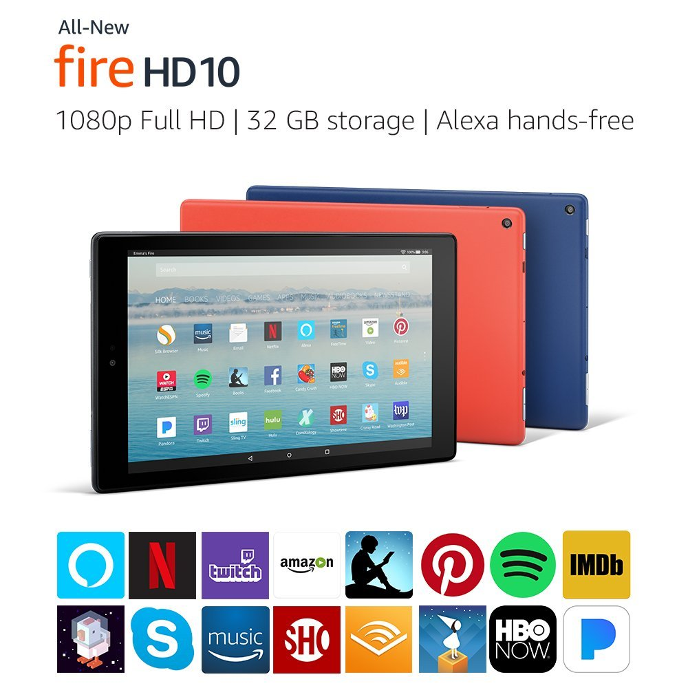 All-New Fire HD 10 Tablet with Alexa