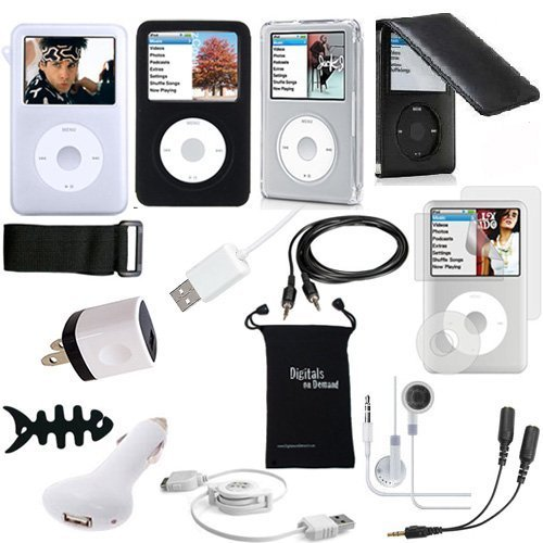 DigitalsOnDemand 15-Item Accessory Bundle for Apple iPod Classic