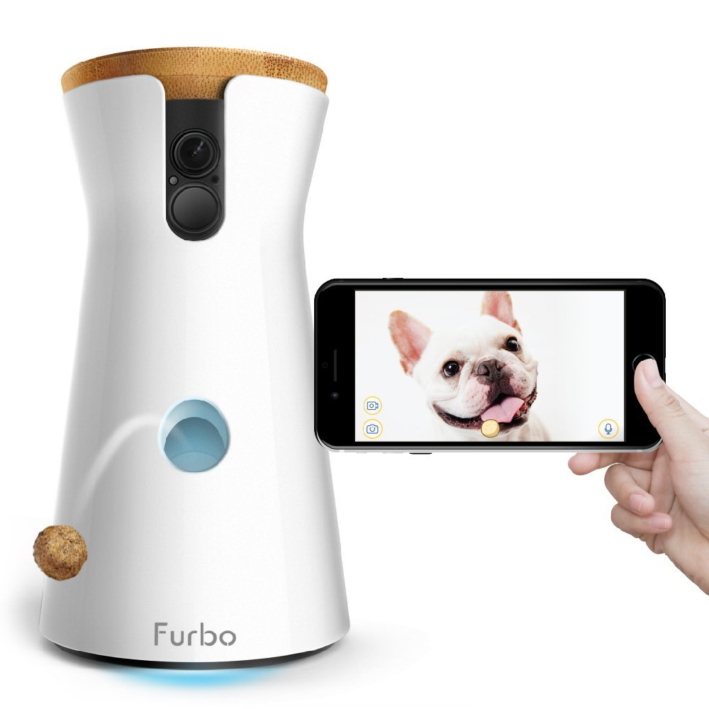 Furbo Dog Camera: Treat Tossing, Full HD Wifi Pet Cam