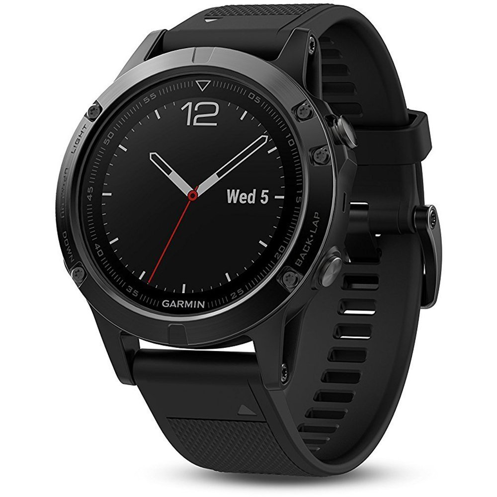 Garmin Fenix 5X Sapphire – Slate Gray with Black Band