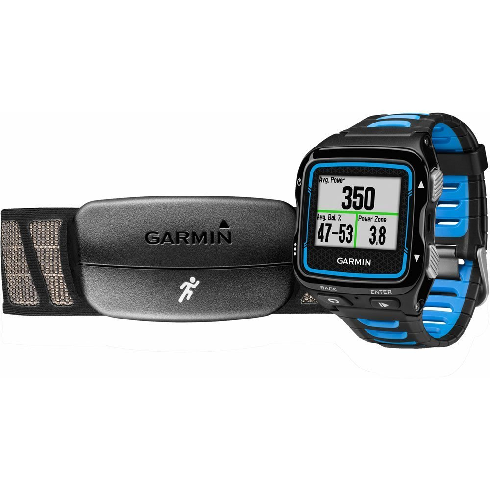 Garmin Forerunner 920XT Black/Blue Watch with HRM-Run