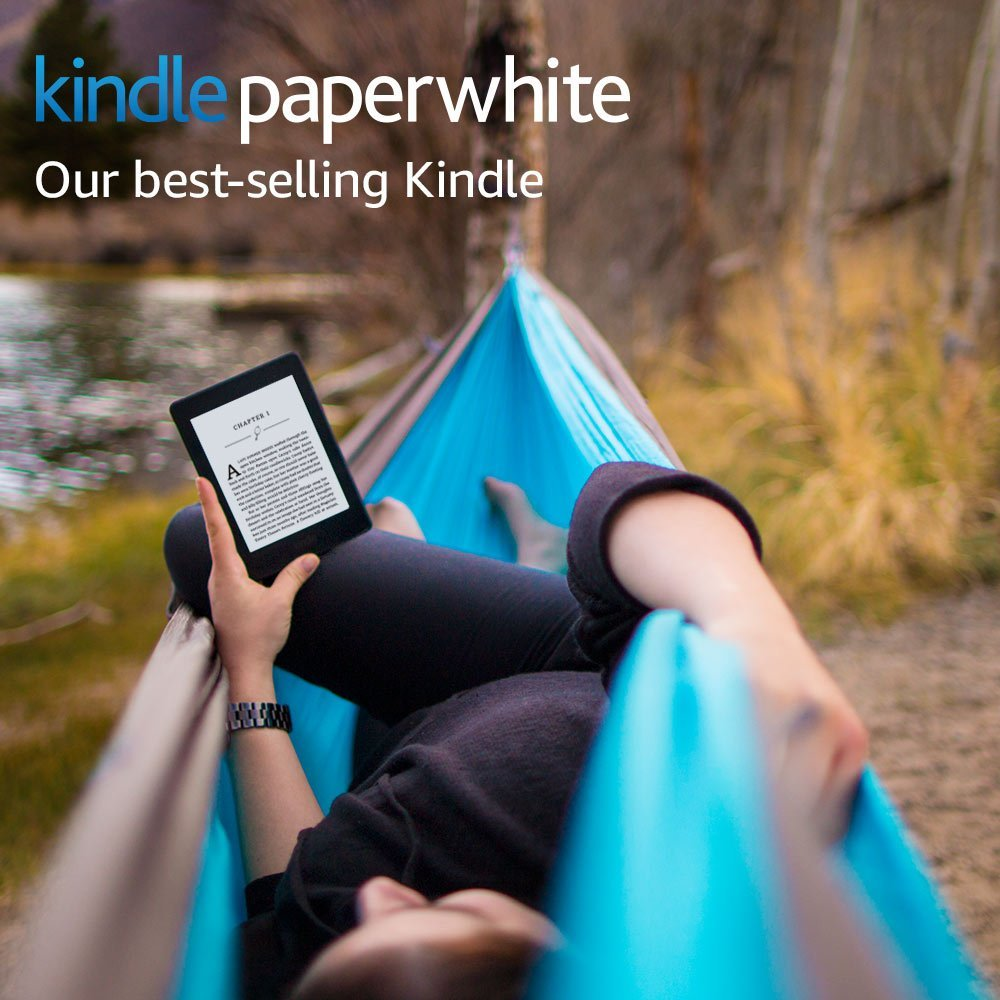 Kindle Paperwhite E-reader with Built-in Light