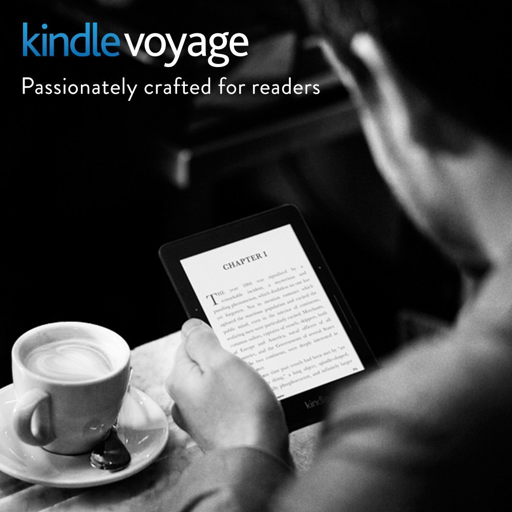 Kindle Voyage E-reader with Adaptive Built-in Light