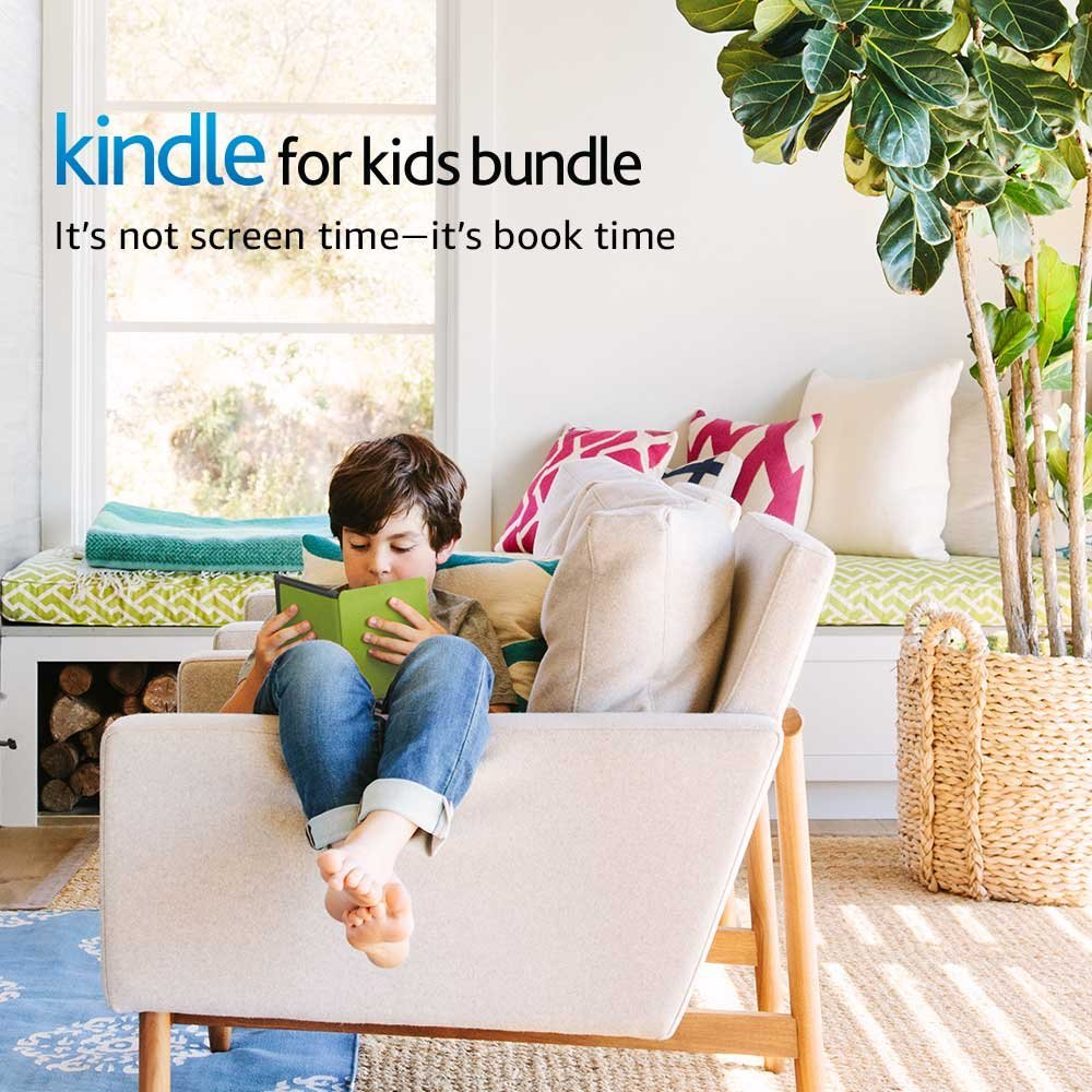 Kindle for Kids Bundle with the latest Kindle E-reader