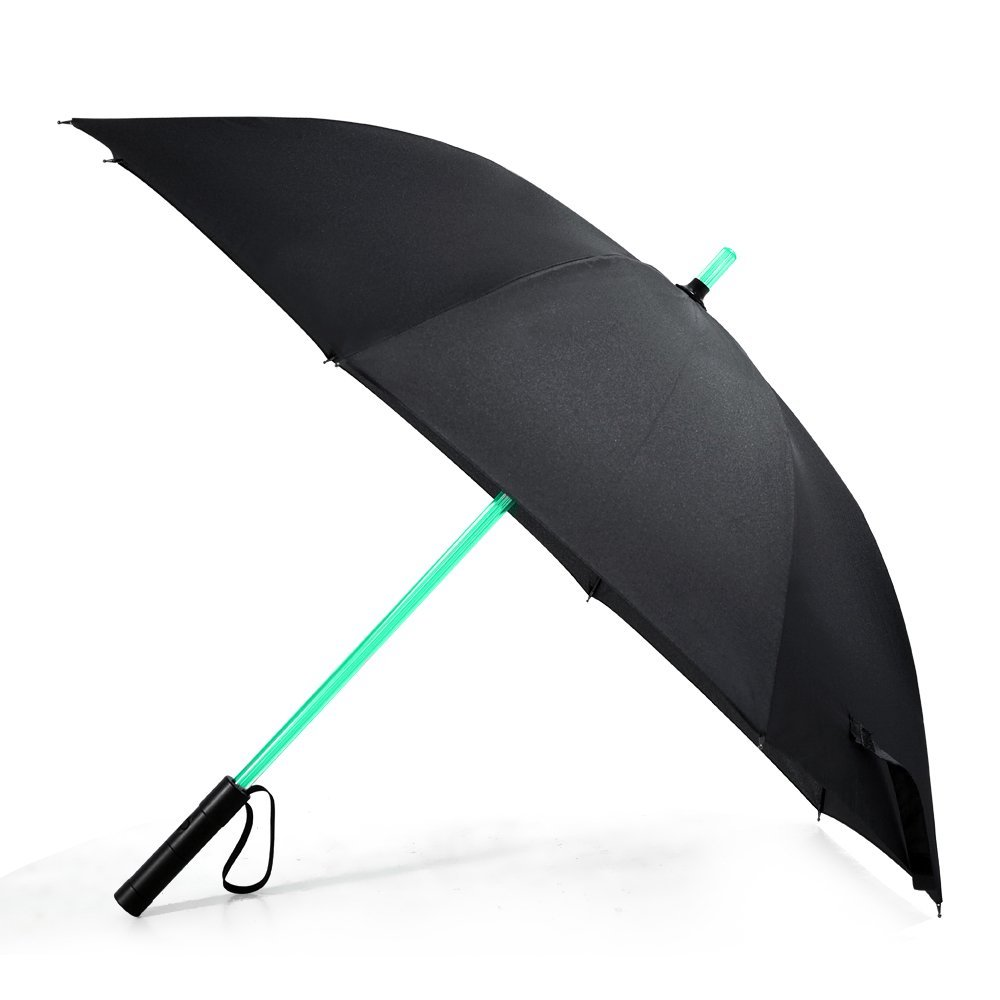 Lightsaber Umbrella – Bestkee LED Laser Sword Light up Golf Umbrella