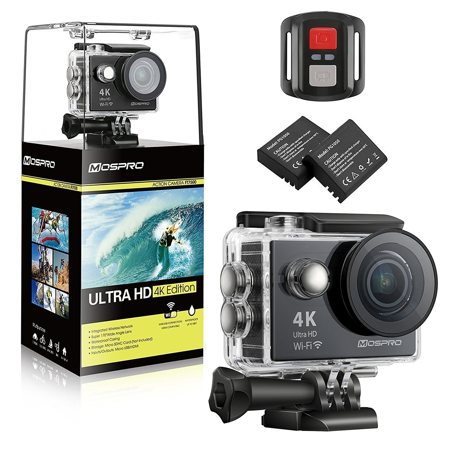 MOSPRO FT7500 Action Camera