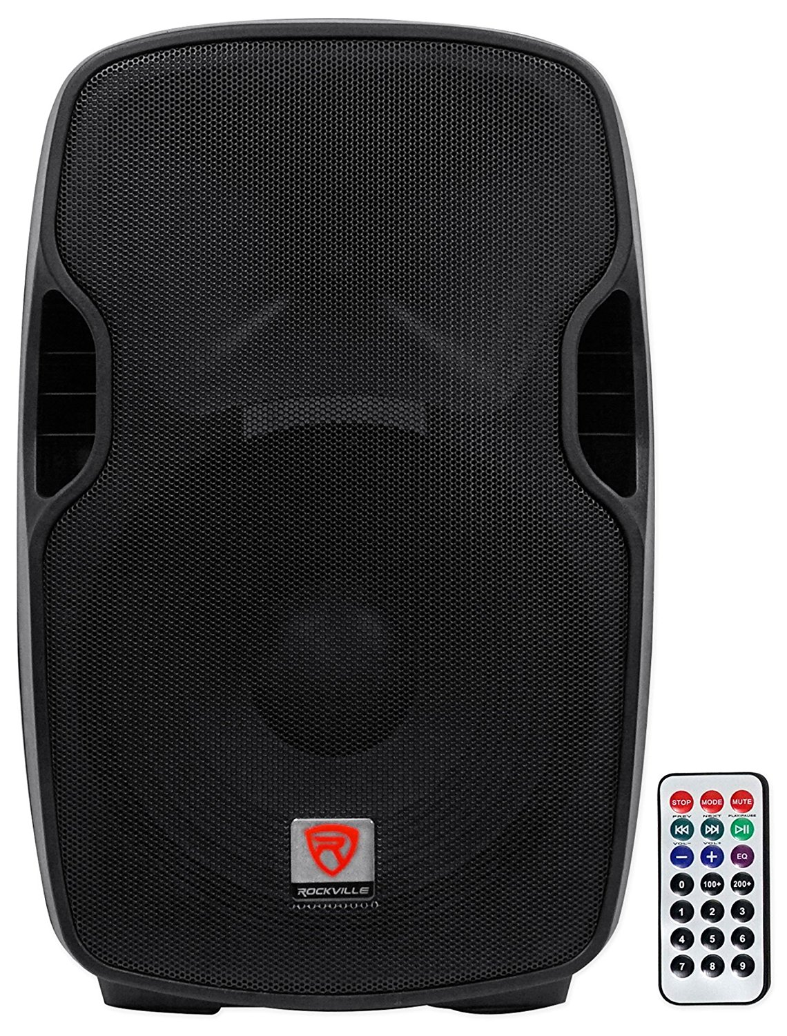Rockville BPA15 15″ Professional Powered Active 800w DJ PA Speaker w Bluetooth