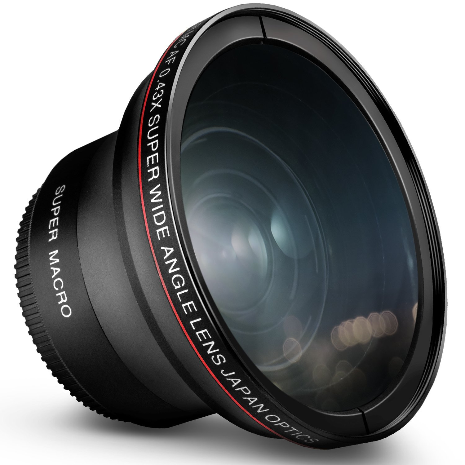 52MM 0.43x Altura Photo Professional HD Wide Angle Lens (w/ Macro Portion) for most NIKON DSLR Cameras
