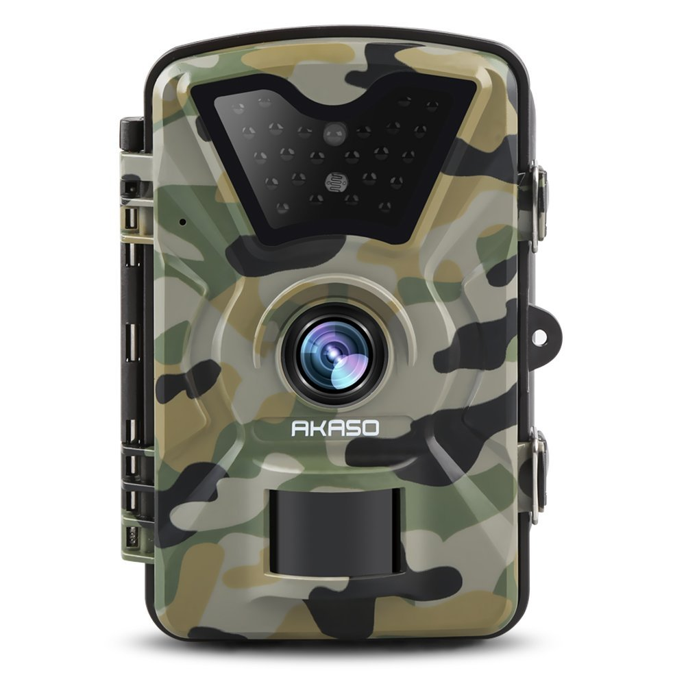 AKASO Trail Camera with Infrared Night Vision