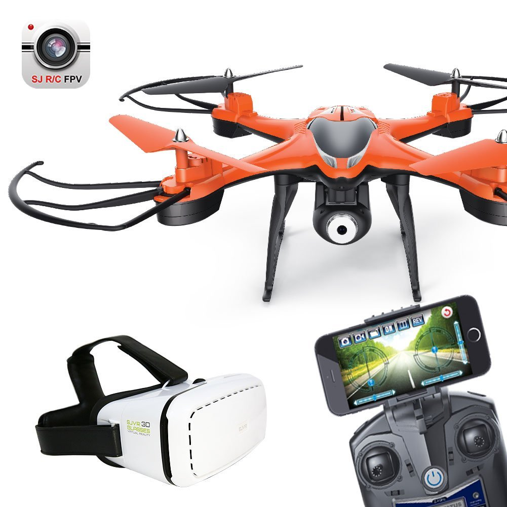 Cewaal 6-Axis HD WiFi Camera FPV Live Transmission with VR Glasses
