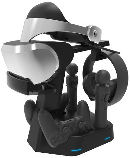 Collective Minds PSVR Showcase Rapid AC PS4 VR Charge & Display Stand