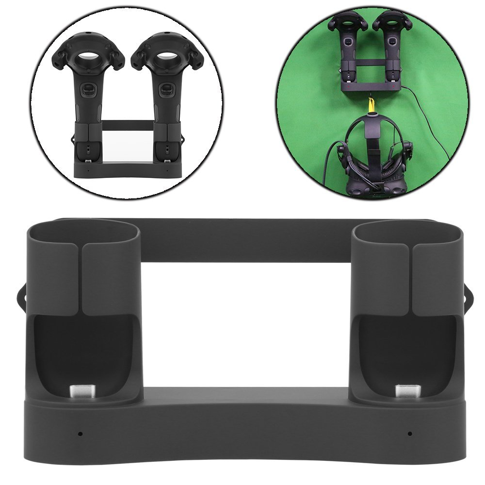 MIDWEC 1 Pcs Magnetic charging dock and Organizer For HTC VIVE Controller