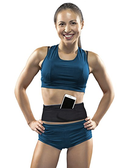 Springk Travel Money Belt,Waist Packs with RFID Blocking