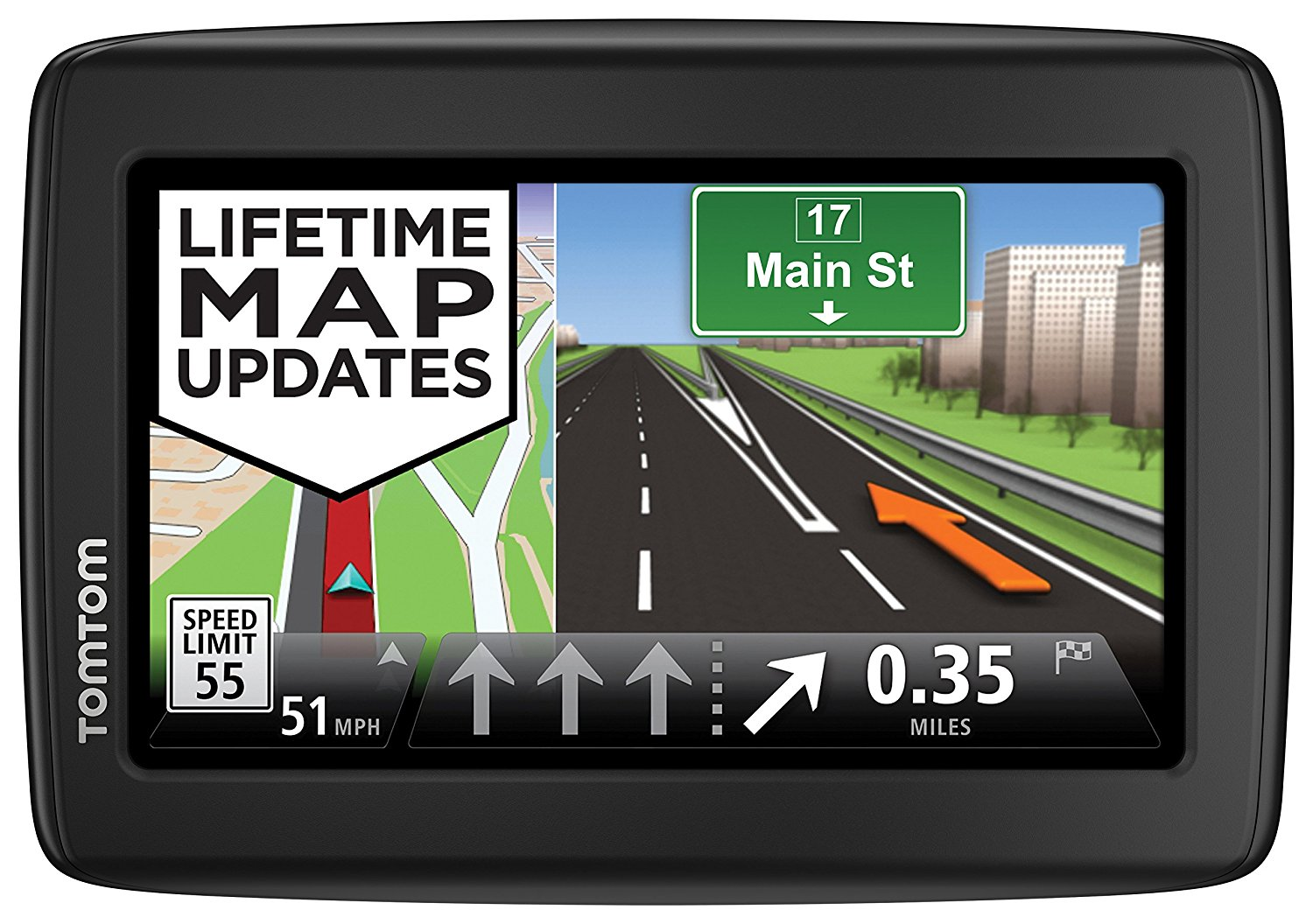 TomTom VIA 1515TM 5-Inch Portable Touchscreen Car GPS Navigation System