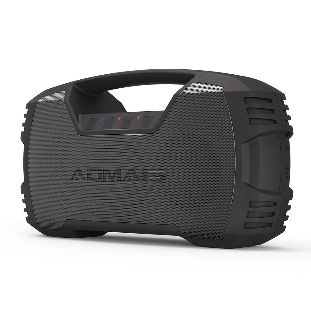 AOMAIS GO Bluetooth Speakers,Waterproof Portable Indoor/Outdoor 30W Wireless Stereo Pairing