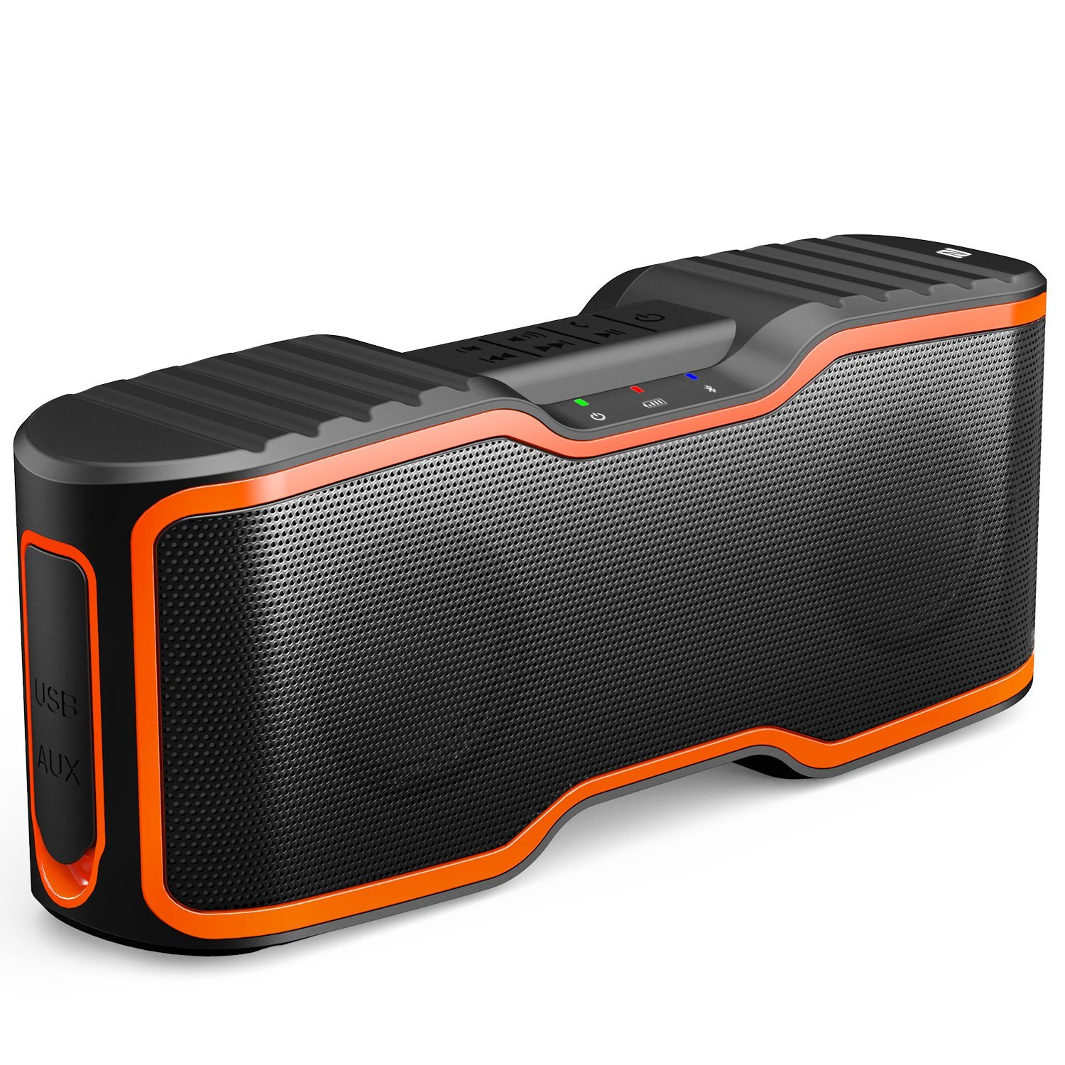 AOMAIS Sport II Portable Wireless Bluetooth Speakers 4.0 with Waterproof IPX7,20W Bass Sound