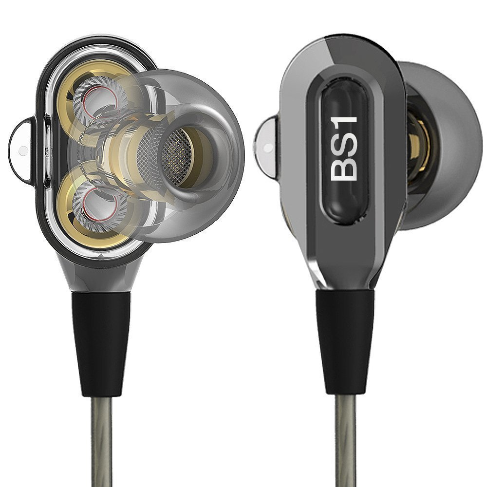 Actionpie In-ear Headphones Earbuds High Resolution Heavy Bass with Mic