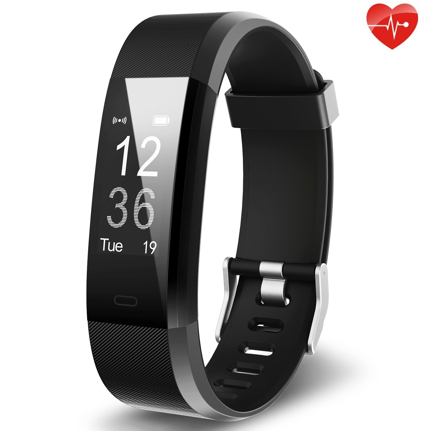 Fitness Tracker, YuanGuo YG3 Plus Activity Tracker Waterproof Sports Smart Bracelet Pedometer Wristband