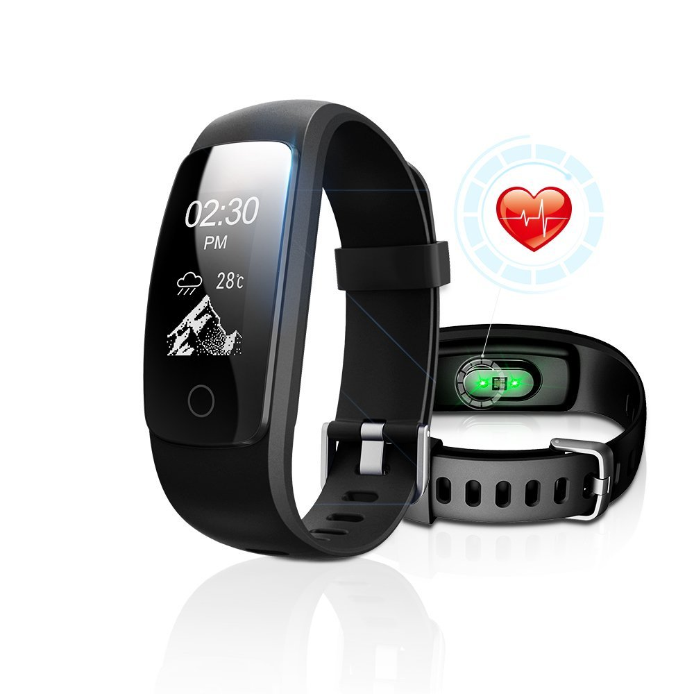 Fitness Tracker with Heart Rate Monitor, DBFIT Activity Tracker Smart Watch with Sleep Monitor