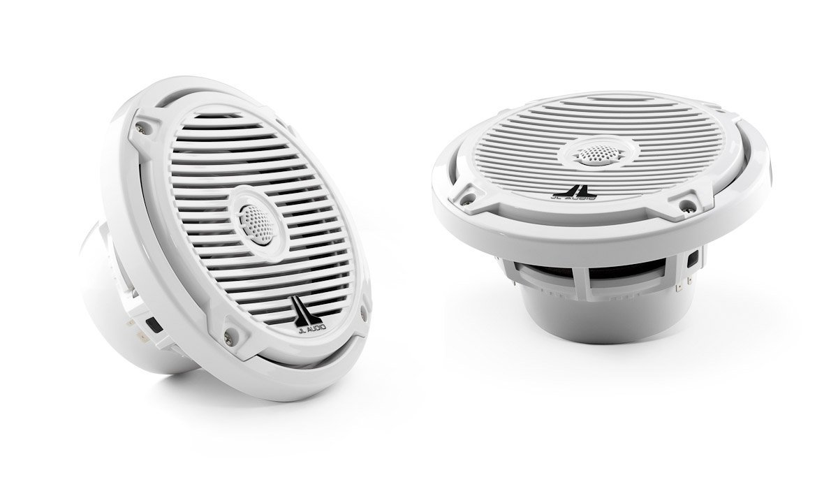 JL AUDIO MX650-CCX-CG-WH Cockpit Coaxial Speaker System, White