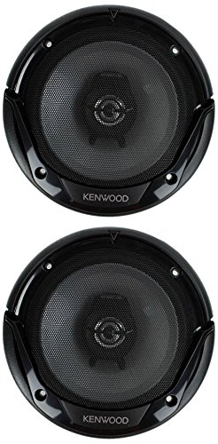 Kenwood KFC-1665S 6.5 Inch 600 Watt 2-Way Car Audio Door Coaxial Speakers