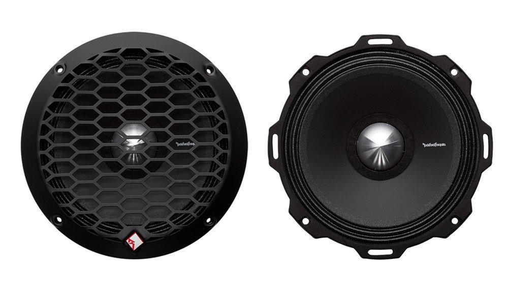 Rockford Fosgate PPS4-6 6.5″ 400 Watt 4-Ohm Midrange Car Loudspeakers Speaker
