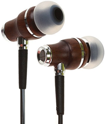 Symphonized NRG 3.0 Earbuds | Wood In-ear Noise-isolating Headphones with Mic & Volume Control