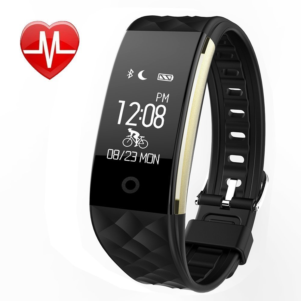 WFCL Fitness Tracker Heart Rate Monitor Activity Sleep Monitor Waterproof Smart Wristband