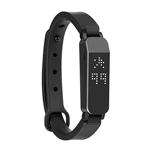 ZIKTO Fitness and Activity Tracker, Black, Large